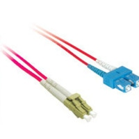 C2G 10m LC/SC Plenum-Rated 9/125 Duplex Single-Mode Fiber Patch Cable 10m Rosso cavo a fibre ottiche