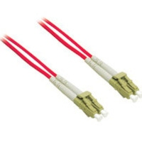 C2G 10m LC/LC Plenum-Rated Duplex 62.5/125 Multimode Fiber Patch Cable 10m Rosso cavo a fibre ottiche
