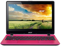 "Acer Aspire V3-111P-C1U0 2.16GHz N2830 11.6"" 1366 x 768Pixel Touch screen Rosa Computer portatile"