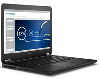 "DELL Latitude 7450 2.6GHz i7-5600U 14"" 1920 x 1080Pixel Touch screen Nero Computer portatile"