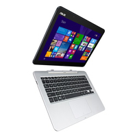 "ASUS Transformer Book T300FA-FE001H 0.8GHz M-5Y10 12.5"" 1366 x 768Pixel Touch screen Blu, Argento Ibrido (2 in 1)"