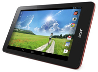 Acer Iconia B1-810 16GB Rosso tablet
