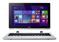 "Acer Aspire Switch 11 SW5-111P-13FX 1.33GHz Z3745 11.6"" 1366 x 768Pixel Touch screen Argento Computer portatile"