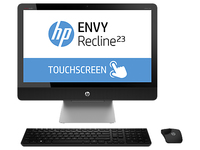 "HP ENVY 23-k413nb 2.7GHz i7-4790T 23"" 1920 x 1080Pixel Touch screen Nero, Argento PC All-in-one"