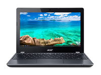 "Acer Chromebook C740-C3P1 1.5GHz 3205U 11.6"" 1366 x 768Pixel Nero Chromebook"