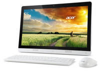 "Acer Aspire AZC-606-MB27 2.41GHz J2900 19.5"" 1600 x 900Pixel Bianco PC All-in-one"