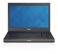 "DELL Precision M4800 2.8GHz i7-4810MQ 15.6"" 1920 x 1080Pixel Grigio Workstation mobile"