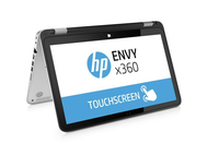 "HP ENVY x360 15-u110dx 2.2GHz i5-5200U 15.6"" 1920 x 1080Pixel Touch screen Argento Ibrido (2 in 1)"