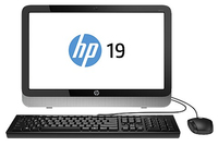"HP 19-2206la 1.5GHz A4-5000 19.45"" 1600 x 900Pixel Nero, Argento PC All-in-one"