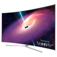 "Samsung UN65JS9000F 64.5"" 4K Ultra HD Compatibilità 3D Smart TV Wi-Fi Argento LED TV"