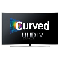 "Samsung UN65JU7500F 64.5"" 4K Ultra HD Compatibilità 3D Smart TV Wi-Fi Argento LED TV"