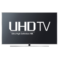 "Samsung UN65JU7100F 64.5"" 4K Ultra HD Smart TV Wi-Fi Argento LED TV"