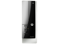 HP Pavilion 400-435d 3.2GHz i5-4460 Mini Tower Nero, Argento PC