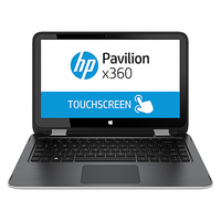 "HP Pavilion x360 13-a200nl 2.1GHz i3-5010U 13.3"" 1366 x 768Pixel Touch screen Argento Ibrido (2 in 1)"