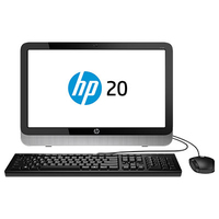"HP 20-2300ns 1.35GHz E1-6010 19.45"" 1600 x 900Pixel Nero, Argento PC All-in-one"