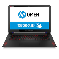 "HP OMEN 15-5098nf 2.5GHz i7-4710HQ 15.6"" 1920 x 1080Pixel Touch screen Nero Computer portatile"