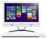 "Lenovo IdeaCentre C40-30 1.7GHz 3558U 21.5"" 1920 x 1080Pixel Bianco PC All-in-one"