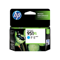 HP 951XL High Yield Cyan Original Ink Cartridge cartuccia d