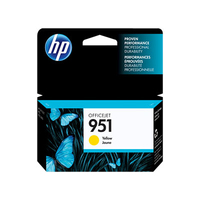 HP 951 Yellow Original Ink Cartridge cartuccia d