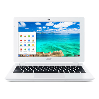 "Acer Chromebook CB3-111-C4GD 2.16GHz N2830 11.6"" 1366 x 768Pixel Bianco Chromebook"