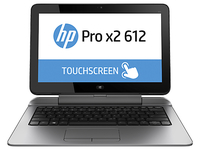 "HP Pro x2 612 G1 + G8X14AA 1.3GHz i3-4010Y 12.5"" 1366 x 768Pixel Touch screen Argento Ibrido (2 in 1)"