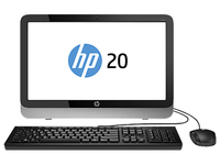 "HP 20-2304nb 1.35GHz E1-6010 19.45"" 1600 x 900Pixel Argento PC All-in-one"