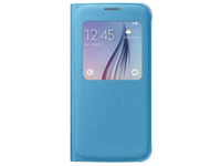 Samsung S View Cover Canvas Cover Blu