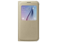 Samsung S View Cover Canvas Cover Oro