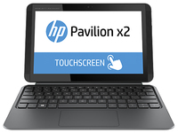 "HP Pavilion x2 10-k020la 1.33GHz Z3736F 10.1"" 1280 x 800Pixel Touch screen Nero, Blu Ibrido (2 in 1)"