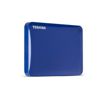 Toshiba 3TB Canvio Connect II 3000GB Blu disco rigido esterno