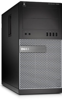 DELL OptiPlex 7020 3.6GHz i3-4160 Mini Tower Nero, Grigio PC