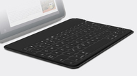 Logitech Keys-To-Go Bluetooth QWERTY Inglese Nero tastiera per dispositivo mobile