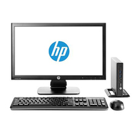 HP ProDesk 600 G1 Mini + ProDisplay P201 3.1GHz i3-4160T Nero Mini PC