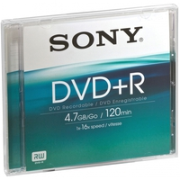 Sony DVD+R DPR120AS16 4.7GB
