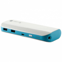 Techly Carica Batterie Power Bank per Smartphone Tablet 10400mAh USB (I-CHARGE-10400TY)