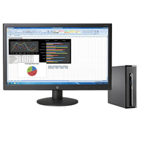HP ProDesk DESKTOP BUNDEL (L3E41EA+K0Q34AA) 400 SFF Intel Core i3 + V241p monitor 3.6GHz i3-4160 SFF Nero PC