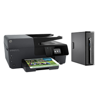 HP ProDesk DESKTOP BUNDEL (L3E41EA+E3E02A) 400 SFF Intel Core i3 + OJ6830 printer 3.6GHz i3-4160 SFF Nero PC