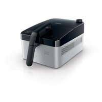 Philips Daily Collection HD9210/90 Singolo Indipendente Low fat fryer 1400W Nero, Argento friggitrice