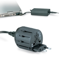 Kensington Travel Plug Adaptor Nero adattatore e invertitore