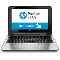 "HP Pavilion x360 11-n110nc 0.8GHz M-5Y10c 11.6"" 1366 x 768Pixel Touch screen Nero, Argento Ibrido (2 in 1)"