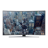 "Samsung UE48JU7500L 48"" 4K Ultra HD Compatibilità 3D Smart TV Wi-Fi Nero, Argento LED TV"