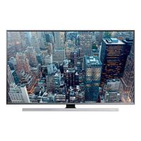 "Samsung UE55JU7000L 55"" 4K Ultra HD Compatibilità 3D Smart TV Wi-Fi Nero, Argento LED TV"