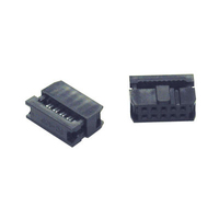 C2G 20-pin Female IDC Flat Ribbon Connector 20-pin IDC Nero cavo di collegamento