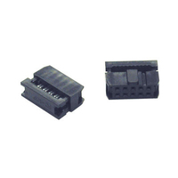 C2G 50-pin Female IDC Flat Ribbon Connector Keyed 50-pin IDC Nero cavo di collegamento