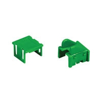 C2G RJ45 Cat5 Patch Cord Boot Green Verde fermacavo