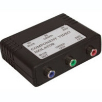 C2G Component Video Isolation Tranformer Nero divisore di rete