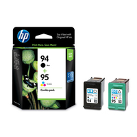 HP 94 Black(2)/95 Tri-color(1) 3-pack Original Ink Cartridges cartuccia d