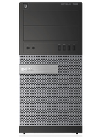 DELL OptiPlex 7020 3.6GHz i3-4160 Torre media Nero, Argento PC