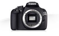 Canon EOS 1200D + 18-135 IS STM + 75-300 III + Bag + SD 4GB Kit fotocamere SLR 18MP CMOS 5184 x 3456Pixel Nero