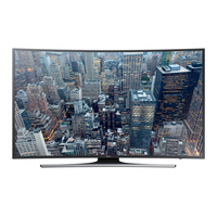 "Samsung UE55JU6500W 55"" 4K Ultra HD Smart TV Wi-Fi Nero, Argento LED TV"